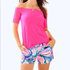 NWT Lilly Pulitzer Pink Sunset Shorts